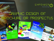 Design a professional 8 page brochure