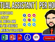 Be Your Virtual Assistant for 5 HOUR