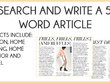 Write 500 words of informative engaging copy