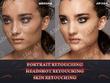 Do Headshot Photo Retouching, Beauty Portrait Retouching