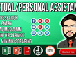 Be your Virtual Assistant or Personal Assistant