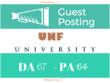 Publish guest post on UNF UNF.EDU DA 67 [ Dofollow backlink ]