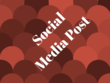 Design 2  social media posts for you