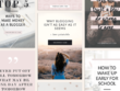 Create and optimise five Pinterest boards to drive traffic