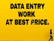 Do data entry, data extracting or data mining work.