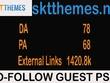Publish A Guest Post On Web-Hosting Site  DA 78 Traffic 1420.8k