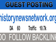 Publish Guest post on a News website DA-60 Traffic 10.7k