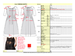 Create a detailed tech pack for fashion garment sampling