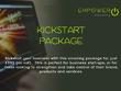 Deliver a kickstart marketing package for business start-ups