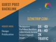 Design Publication Related Guest post on dzinetrip.com|DA 49