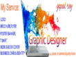 Do Any Graphic Design with unlimited revision