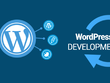 Create a website with landing page on wordpress.
