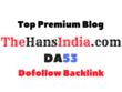 Publish a Guest Post on PREMIUM Thehansindia.com, DA53
