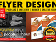 Design professional flyer, poster or leaflet design