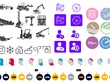 Create A High Quality Set Of 10 Flat Icons Design