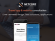 Travel app & website development consultation