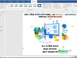 Design, edit your Microsoft Word document in Professionally