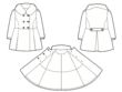 Create technical drawings (CAD) of your fashion garment designs