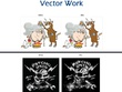 Image to vector convert within 12-24 hours