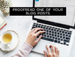 Proofread one of your Blog Posts