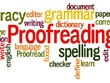 Proofread up to 1500 words for grammar, spelling and clarity.