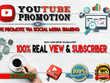 Do Organic YouTube Video Promotion [Get more Subscriber & Views]