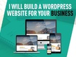 Develop a Premium | Secure | Responsive WP Website + FREE THEME