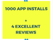 Promote your android app with 250 ORGANIC installs +many reviews