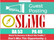 Write & Publish Do Follow Guest Post On Sli.Mag DA 53