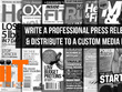 Write a Professional Press Release and Distribute to Media