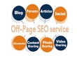 Off-Page SEO package in 30 days