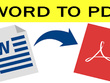 Do convert word to PDF document work 1 Hourly