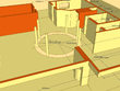 Create a 3D structural model of your 2D floorplan