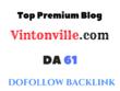 Guest Post on Vintonville - Vintonville.com - DA61
