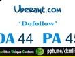"""Write And Publish A Guest Post On Dofollow """"Uberant"""" DA-52"""