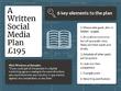 Write a Social Media Strategy Plan