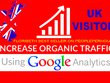 Will Drive UK organic SEO KEYWORD TARGETED for 1 month