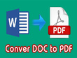 Convert 30 pages PDF file of any kind 2 hours