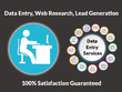 Do 2 hours Data Entry, Web Research and Lead Generation