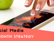 Create a 3-month social media strategy