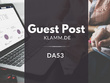 Guest Post on Klamm.de DA60 | German Guest Post |.DE