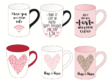 Design a set of 10 Coffee Mugs