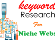 Deep SEO Keywords Research For Your Website Or Niche