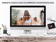 Design and Create a Responsive 6 to 8 Pages WordPress Website.