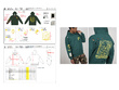 Create a detailed garment Technical Pack