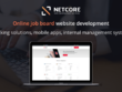 Online job board website development consultation