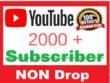 Add 2k+ YouTube subscribers on your channel