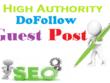 Publish your content on 5 HQ Authority sites[ DA 70-95]