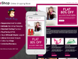 Code editable and reusable responsive Mailchimp template