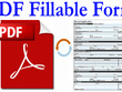 Do PDF Fillable form work 2 hourly